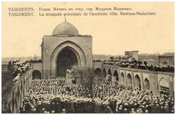 Main mosque in old city
