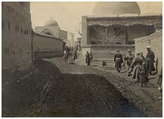 Gul-Bazaar Street in the beginning of XX century