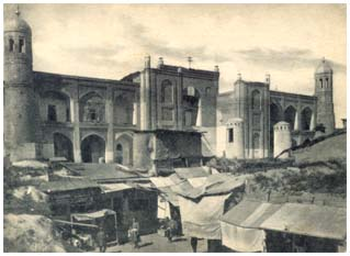 Front of  Kukeldash madrasah in the beginning of XX century