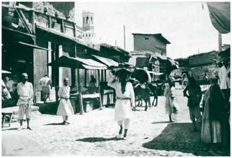 Bazaar Street near to Kukeldash madrasah