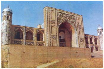 Kukeldash madrasah in it's present look