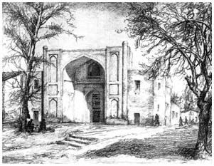 Mazar of Yunus-Khan of Mogolistan