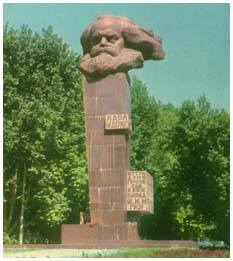 Monument of Karl Marx
