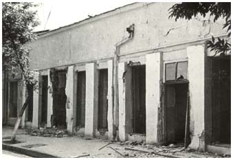 Harm done by the earthquake of 1966